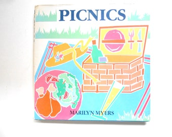 Picnics, a Vintage Cookbook by Marilyn Myers, 1988