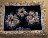 HIBISCUS New Painting By Artist Whitney Madison