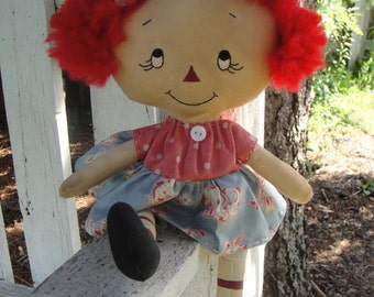 Primitive Rag Doll Lily