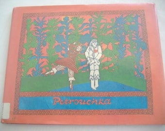 SALE- Petrouchka by Elizabeth Cleaver, Hardcover, 1980, First Edition