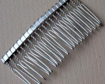 1 x 7.5cm metal Comb