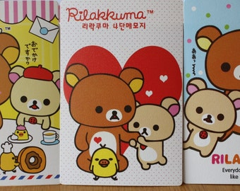 Postcards Rilakkuma Bear - 9 Sheets