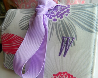 Personalize Your Jewelry Rolls, Tea Wallets, or Makeup Brush Rolls with Monogramming
