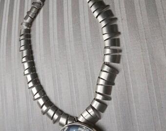 Sterling Silver Vintage Necklace Mexico  - Talleres De Los Ballesteros