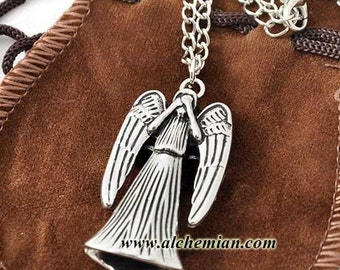 Weeping Angels necklace