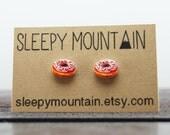 Donut Earrings - Sleepy Mountain Junk Food Studs
