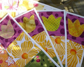 Funky flowers set of four placemats