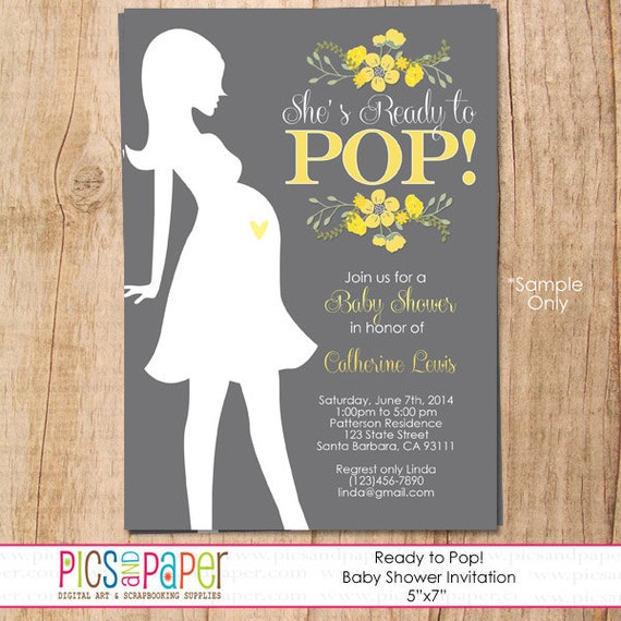 Welcome Home Baby Shower Invitations was beautiful invitation template