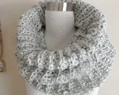 The Misty Grey Chunky Cowl