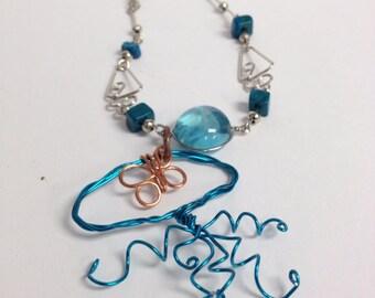Blue Jellyfish Bracelet