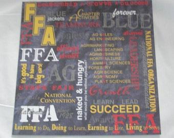 FFA 12x12 caption paper