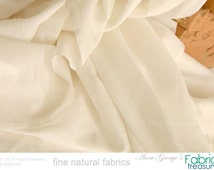 "Soft Silk Cotton Fabric. Super soft on skin. Organic dyeable, unbleached fabric. Shirts, Blouses etc. Fashion fabric. 46"" W"