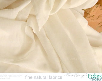 "Soft Silk Cotton Fabric. Super soft on skin. Organic dyeable, unbleached fabric. Shirts, Blouses etc. Fashion fabric, Dress Fabric. 46"" W"
