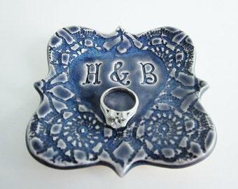 Engagement present Ring holder Anniversary gift Bridal shower gift
