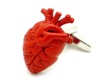 Anatomical Heart, Surgeons Cufflinks