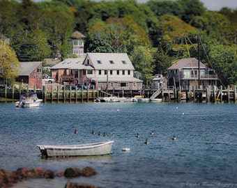 QUISSETT HARBOR, FALMOUTH, Cape Cod Fine Art Photography, Travel Art,  Massachusetts Print, New England, Nature, Landscape, Atlantic,
