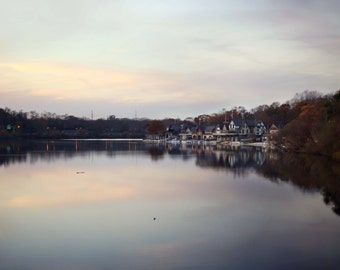 Boat House Row, Philadelphia - Fine Art Photograph