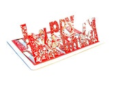 Happy Birthday - Popup Playing Card
