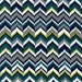 Rustique by Crazy Old Ladies - Feathering Teal (DC6416-TEAL) - 1 Yard