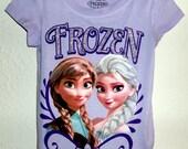 FROZEN Tee Shirt DRESS  size  3t