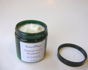 Vanilla Natural Cream Deodorant