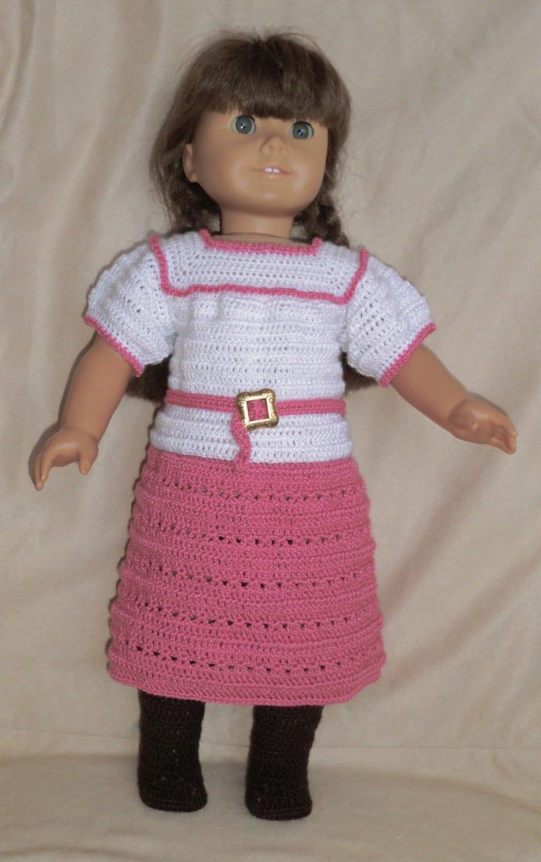 Baby Turtle Amigurumi Pattern : 206 Midi Skirt Set Crochet Pattern for American Girl Dolls