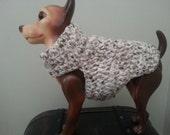 Chihuaha crochet sweater