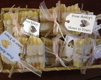 Bridal Shower and Wedding Soap Favors