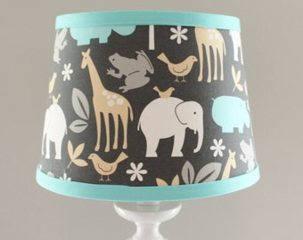 Small Zoology Sea Lamp shade. Other sizes available.