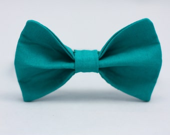 Emerald Green Clip on Bow Tie - Infant, Toddler, Boys