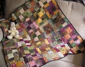 Modern Batik Quilt