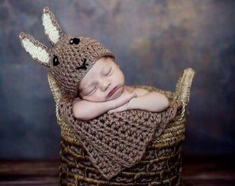 Newborn Peter Rabbit Hat