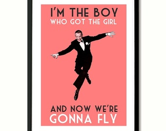 James Just Like Fred Astaire Wall Art Print
