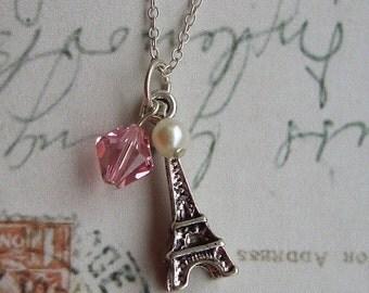 Full of love light rose necklace