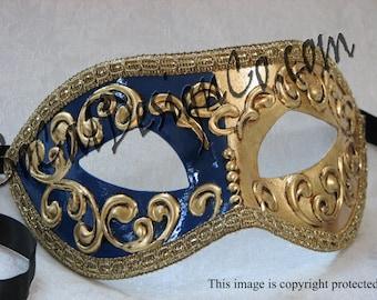 Venetian Masquerade Mask – Gold – Masquerade Mask – Masquerade Masks – Women - Mask – Italian Mask – Masquerade Ball – Carnival Mask – Masks