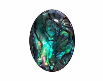 25x18mm Green Paua Shell Cabochon diy jewelry findings from cameo jewelry supply  585x