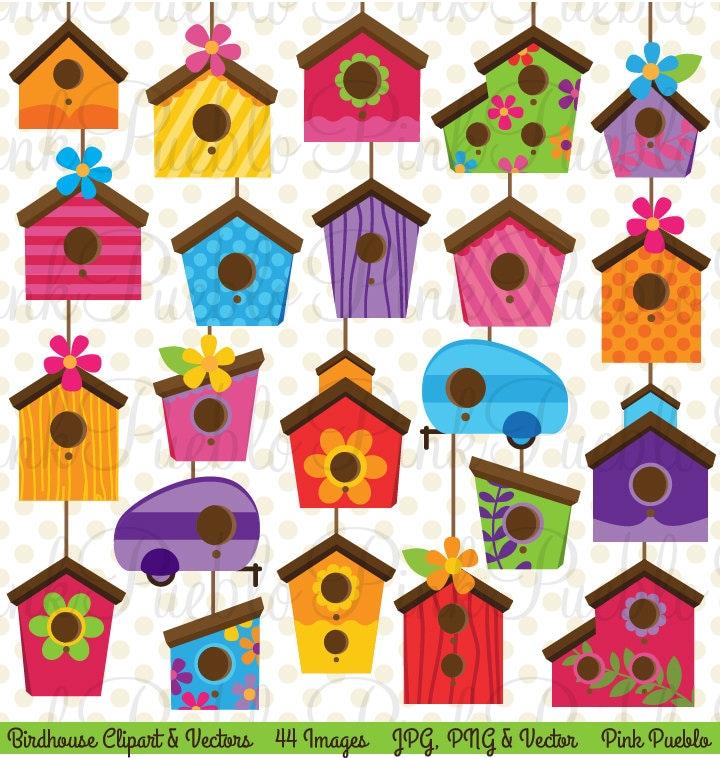 Bird house clipart free download clip art free clip art on - Birdhouse Clip Art Clipart Cute Whimsical Bird House Clipart
