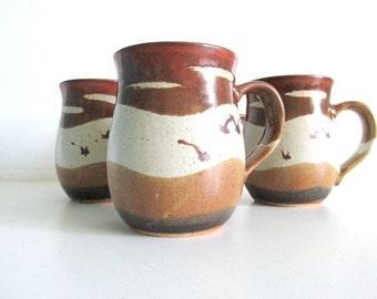 Otagiri Stoneware Pottery Mugs
