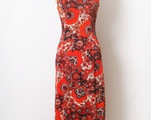 vintage Retro Dress Party dress /Vintage 60s 70s Asian Style Fashions / Chinese / Sexy Dress
