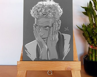 Peter Capaldi - The Thick of It - Mini Print