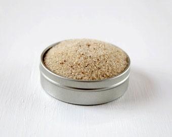 White Russian flavored rim sugar for vanilla coffee flavored drinks, coffee bar, hot chocolate bar