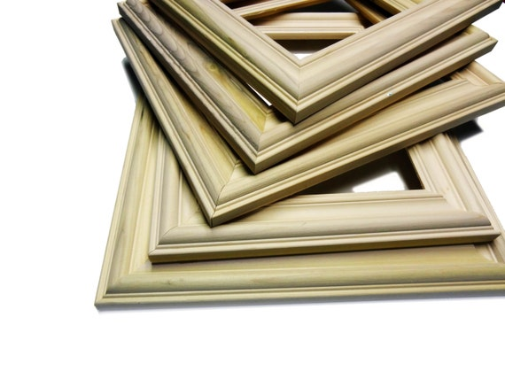 Bulk Lot Unfinished Wood Custom Picture Frame By