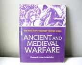 RESERVED for Anna - 1980s Vintage West Point Military History Series Ancient and Medieval Warfare Book Ephemera