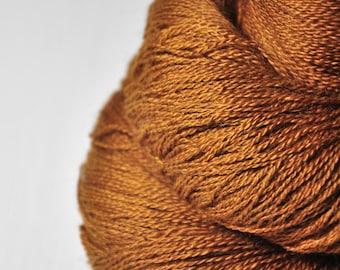 Camel gone wild - BabyAlpaca/Silk Lace Yarn