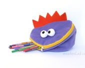 Back to school Funny pencil monster pouch Crayon case Kid monster toy - READY TO SHIP
