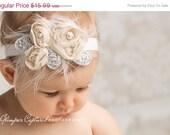 SALE Number 1 shop seller headband Baby headband, newborn headband, adult headband, child headband and photography prop, Chiffon Ro