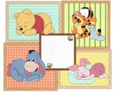 Baby Pooh Birth Announcement Cross Stitch Pattern Winnie the Pooh Instant Digitial Downoad
