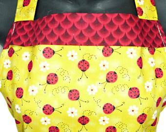 Lady bugs   apron
