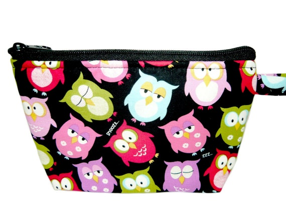 Owls Makeup Bag