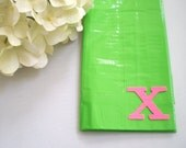 PERSONALIZED Duct Tape Wallet GREEN NEON